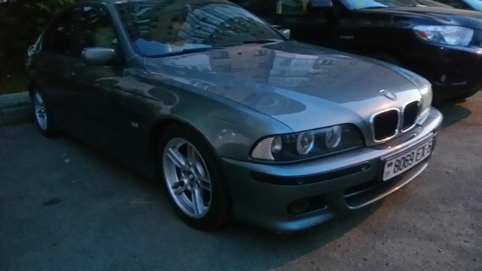 как установить ксенон на BMW e39