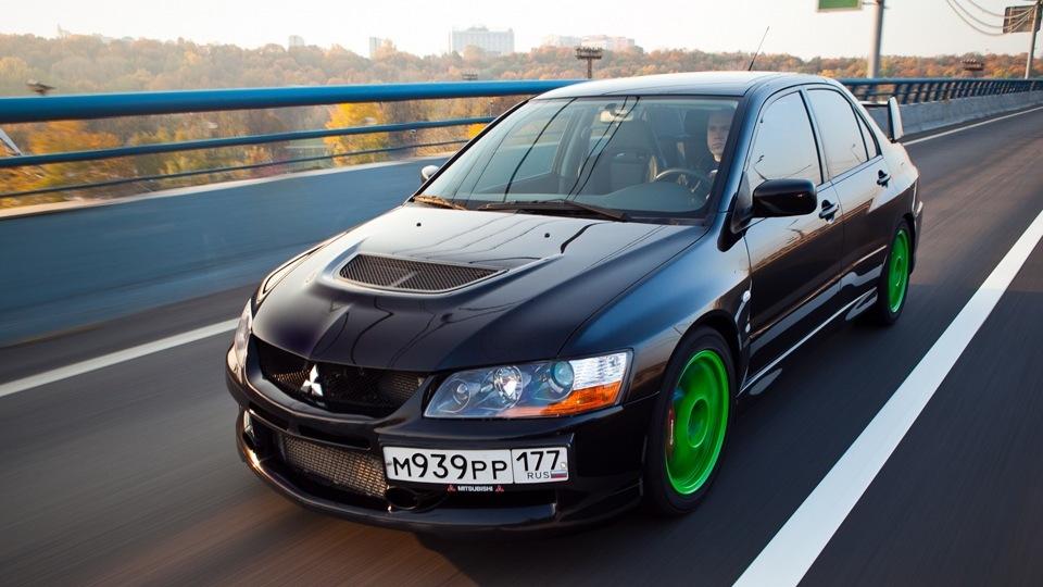 Mitsubishi lancer evolution 9 фото