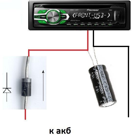 Как сделать громкость на магнитоле