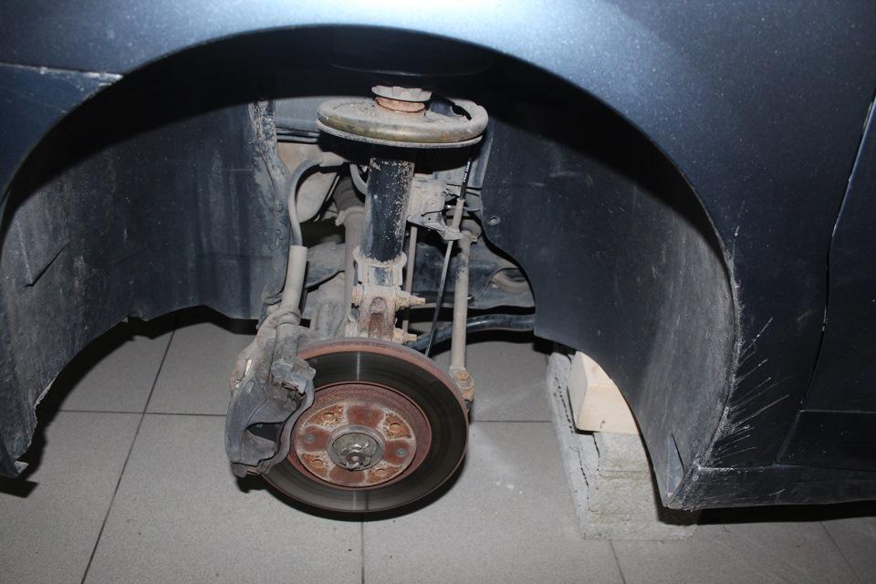 ситроен с4 порванный пыльник рулевой рейки руль