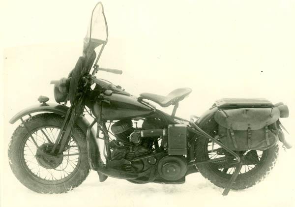 Harley-Davidson WLA-42 был самым массовым мотоциклом Красной Армии в конце войны