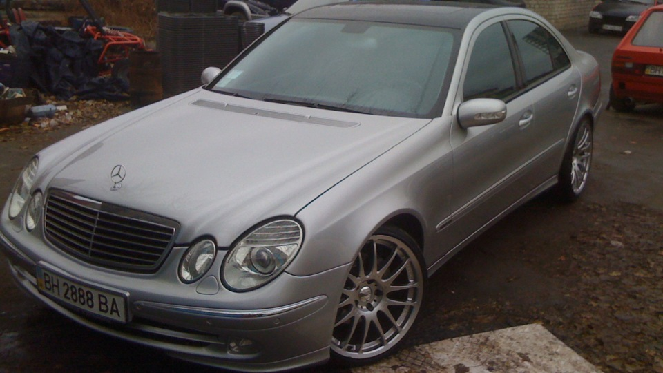 mercedes benz e class 320cdi tune up drive2