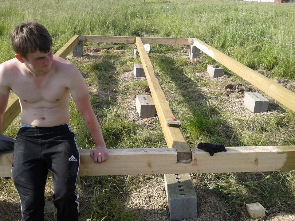 Как построить бытовку своими руками пошагово 874