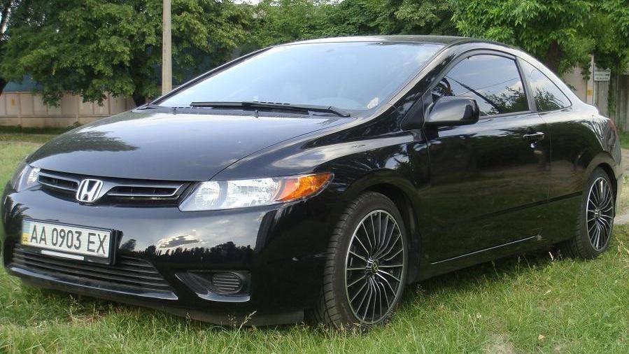 Хонда цивик купе фото