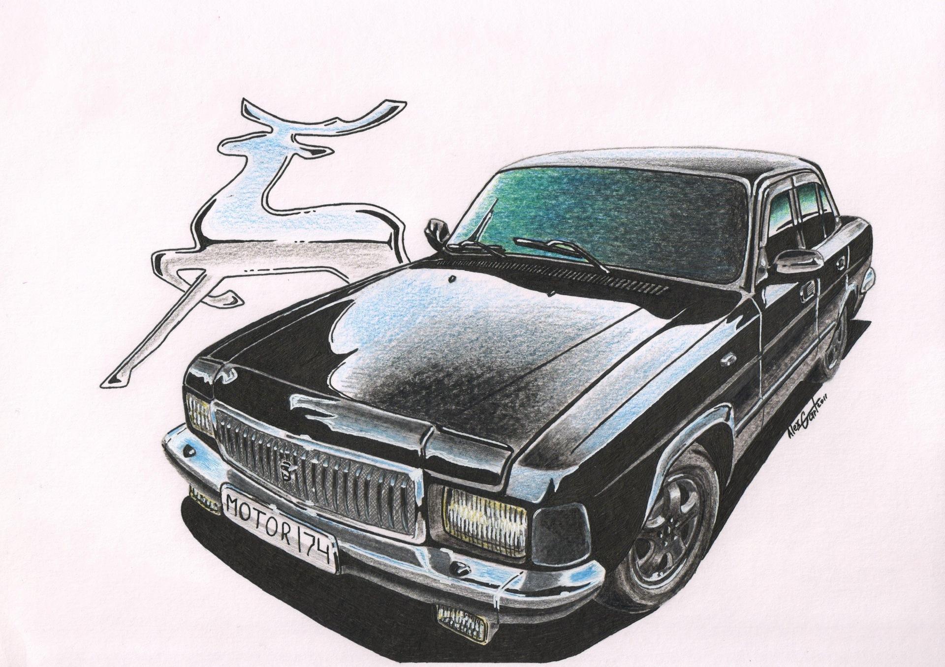 повезло креативные картинки логотипа газ волга интернет попали первые