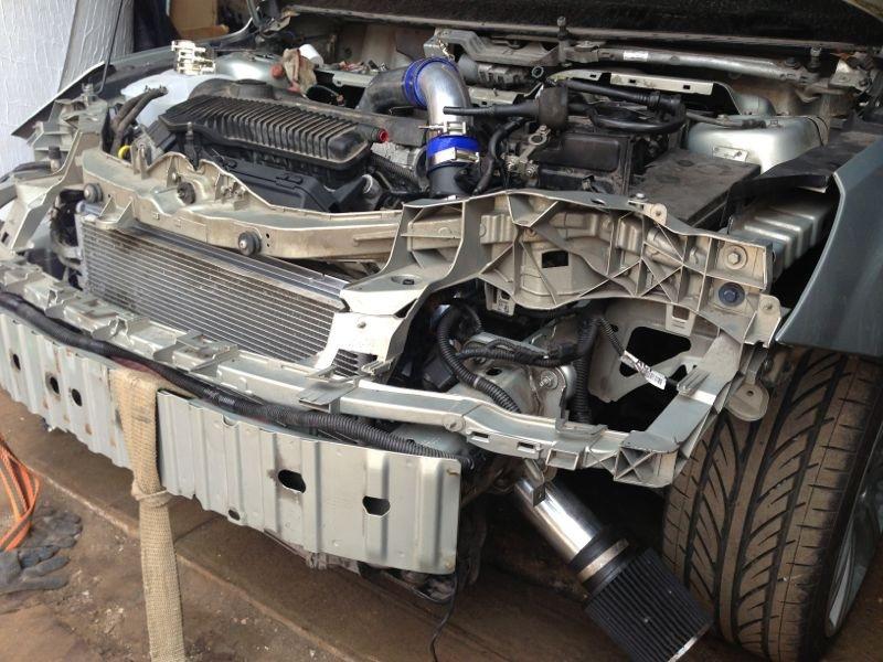 двигатель volvo 2.5t уходит антифриз