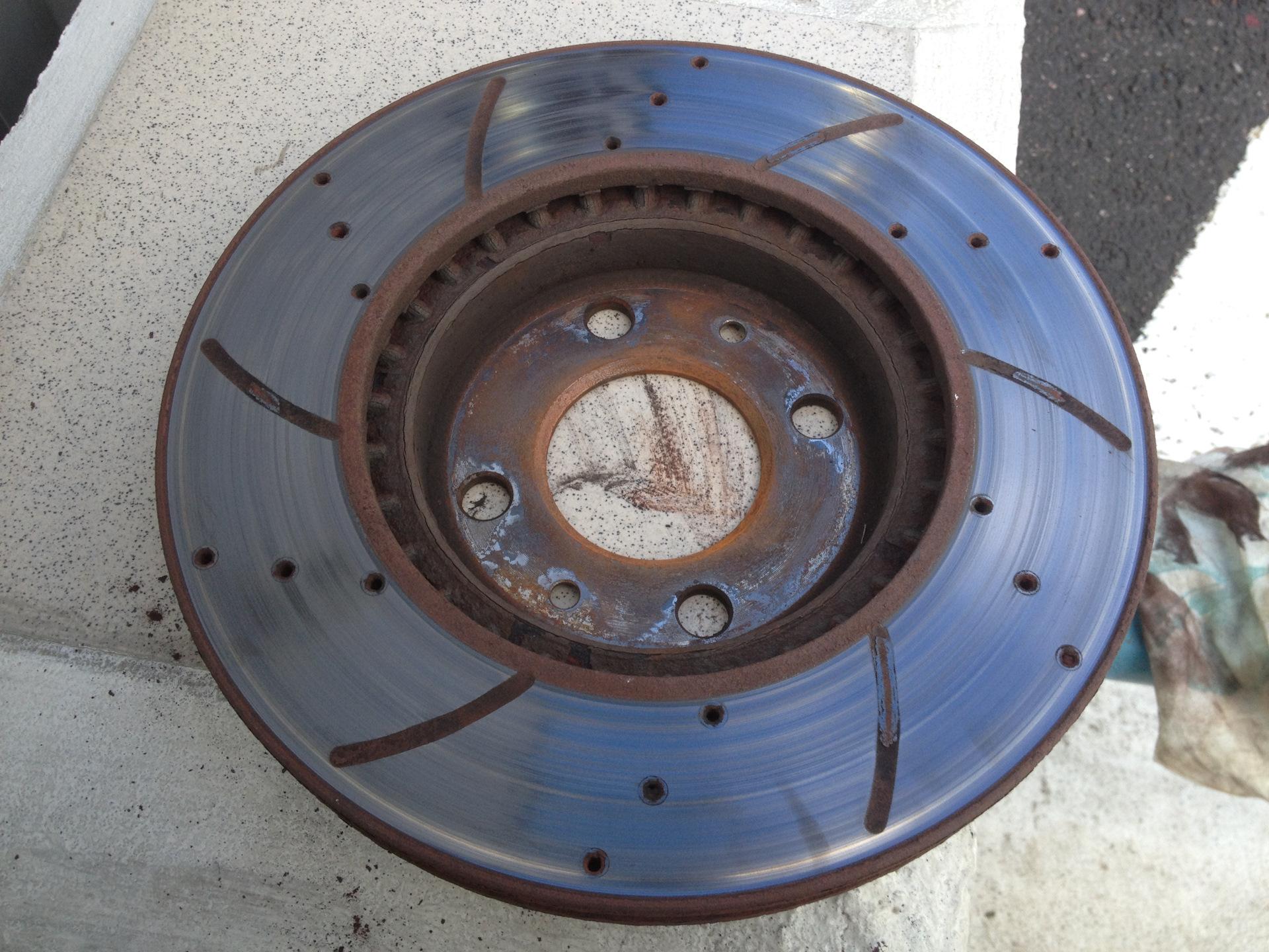 Сделать накатку на диск без дырки