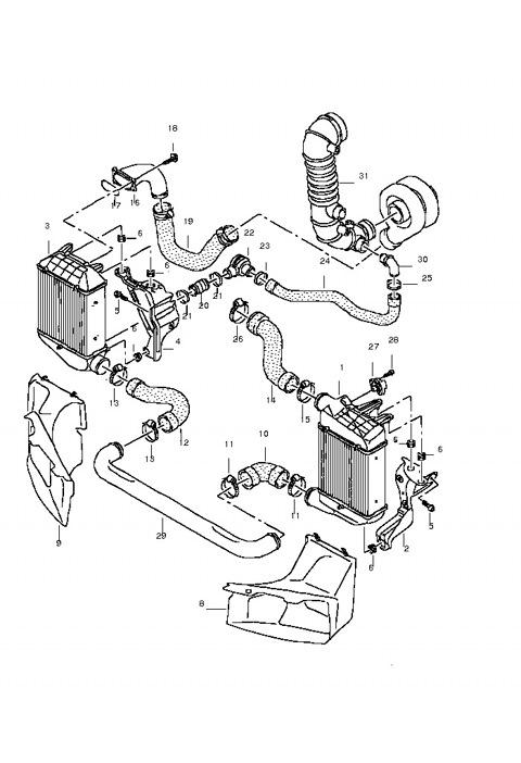 dsmic dual side mount intercoolers ver bex или два лучше чем один бортжурнал audi a4 1 8t