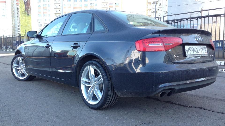 Audi A4 Moonlight Blue Drive2