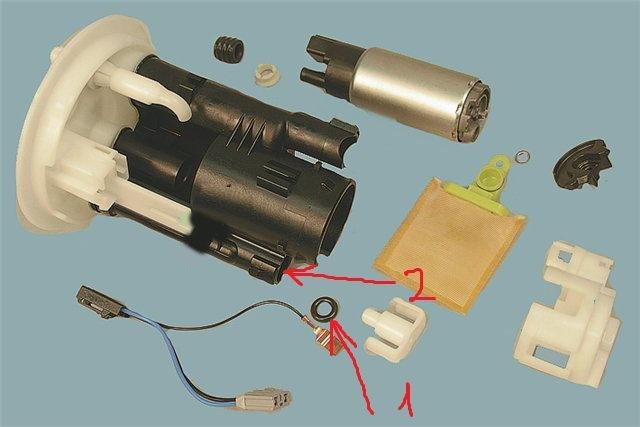 топливная схема 9 лансер система