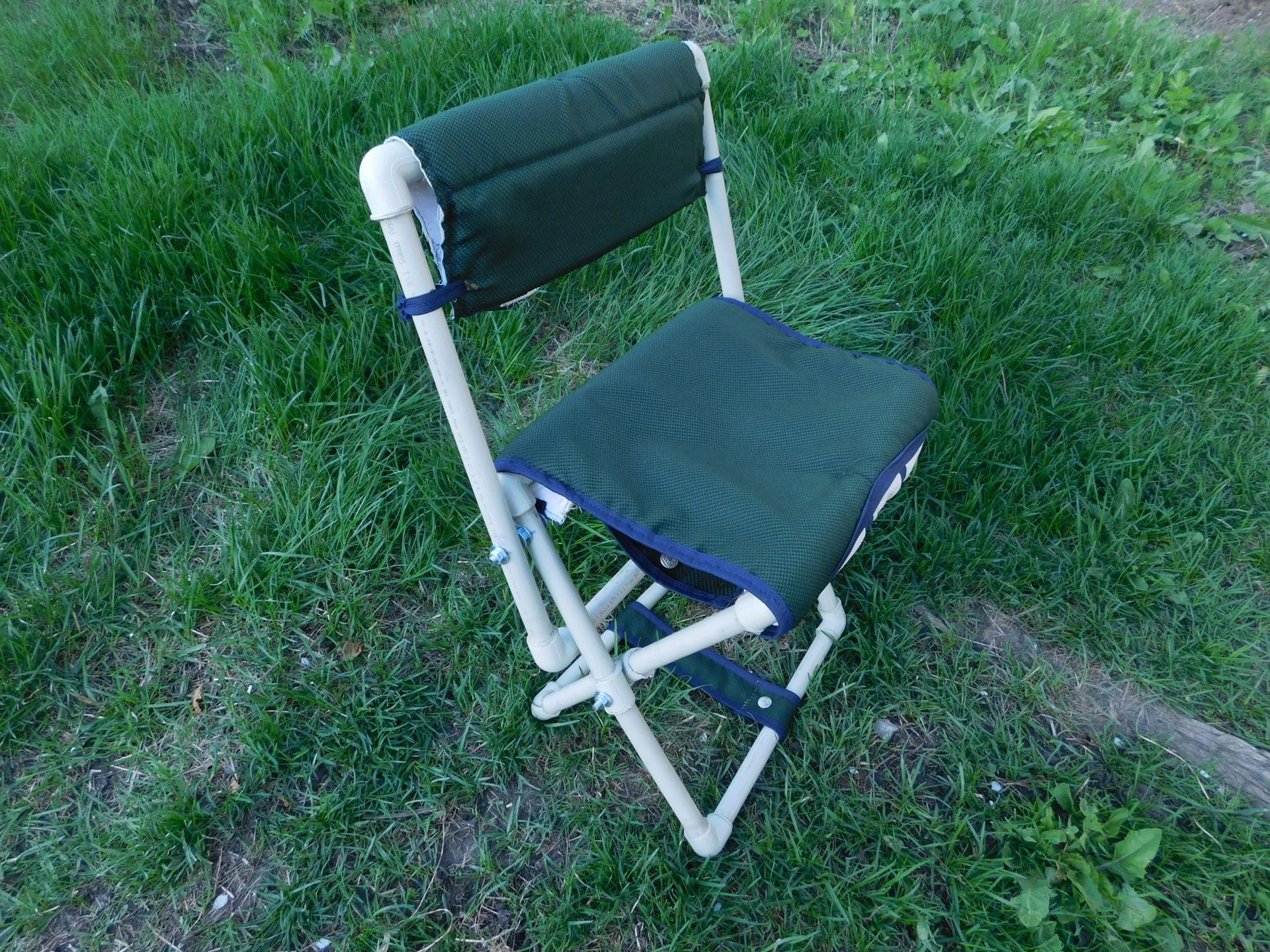Складные стулья из трубы своими руками фото