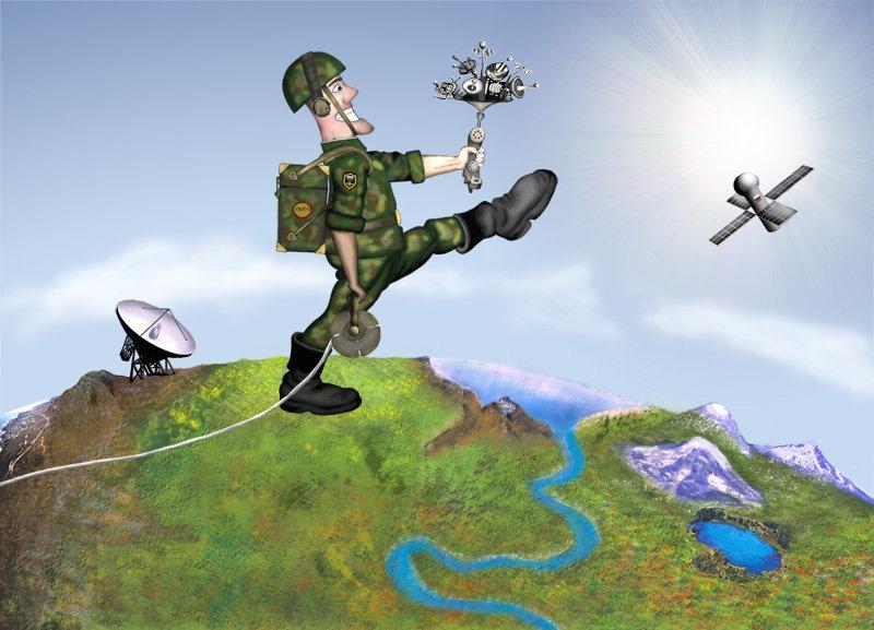 Картинка с днем военного связиста прикольные, сентября