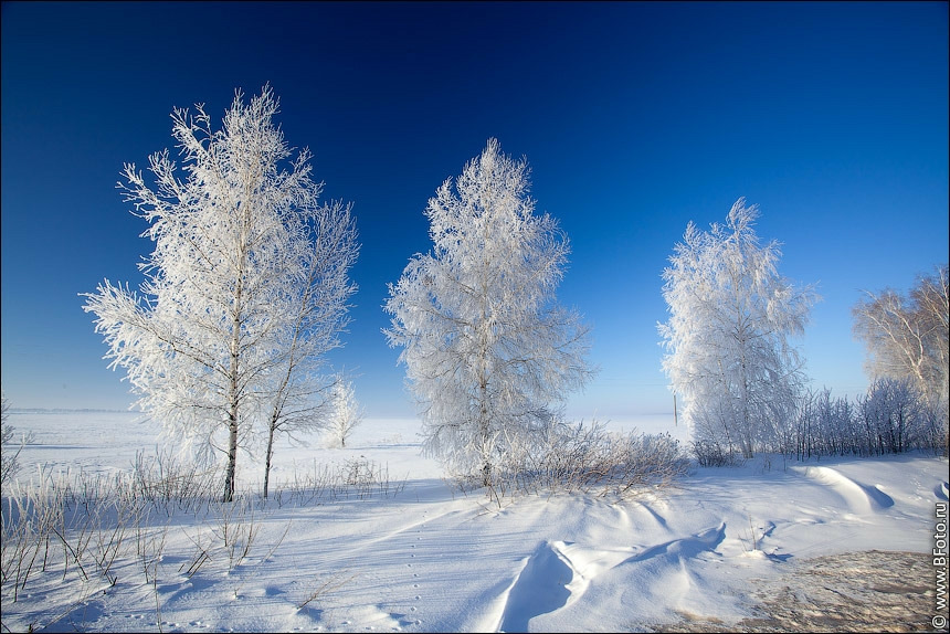 слайд фото зимы в россии