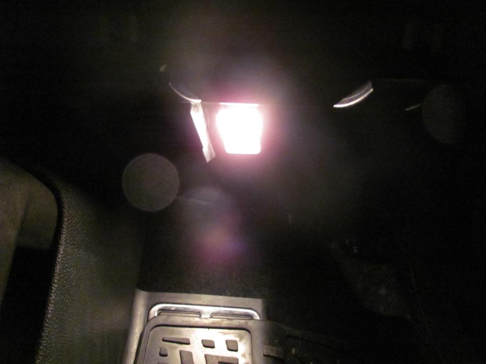 Подсветка ног своими руками джетта 6 35