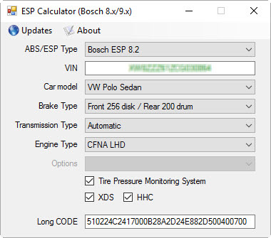ESPcalculator (Bosch 8 x/9 x) — DRIVE2