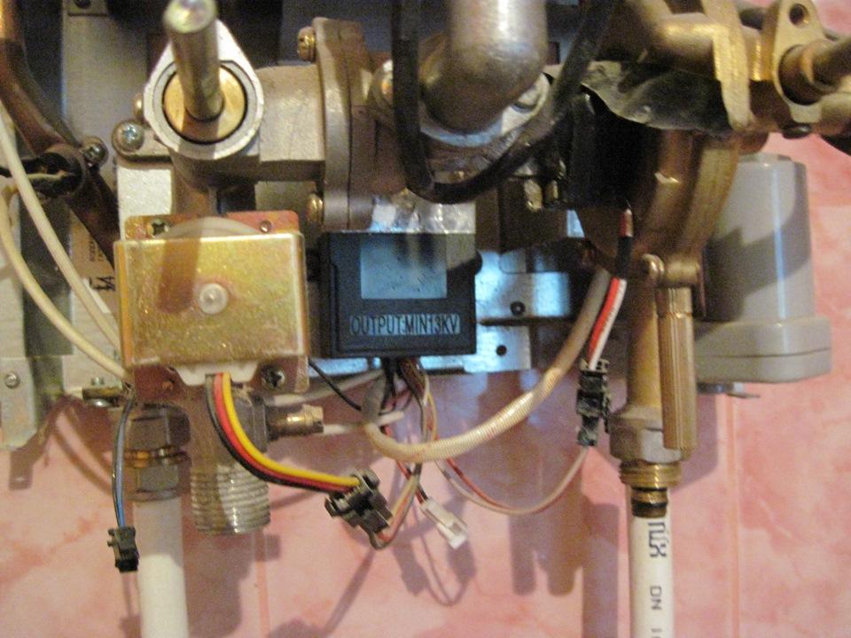Газовые колонки вектор ремонт своими руками 85