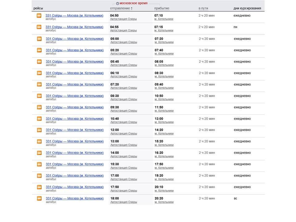 определяется стоимость 2017 расписание автобусов запрудня москва них