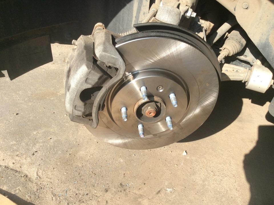 Замена тормозных дисков astra j Замена подшипника ступицы вольво хс60