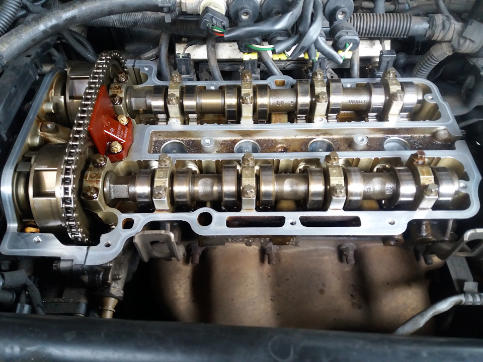 замена прокладки клапанной крышки opel corsa d