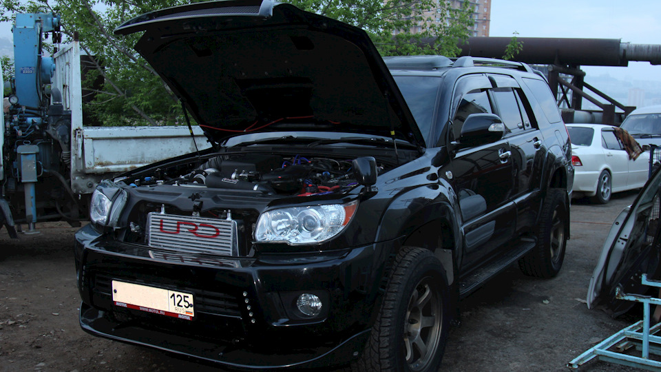 Toyota Hilux Surf 4 0 URD Supercharged | DRIVE2