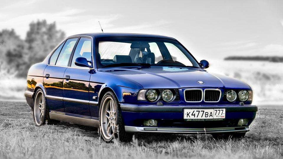 BMW M5 3.8 Avusblau metallic