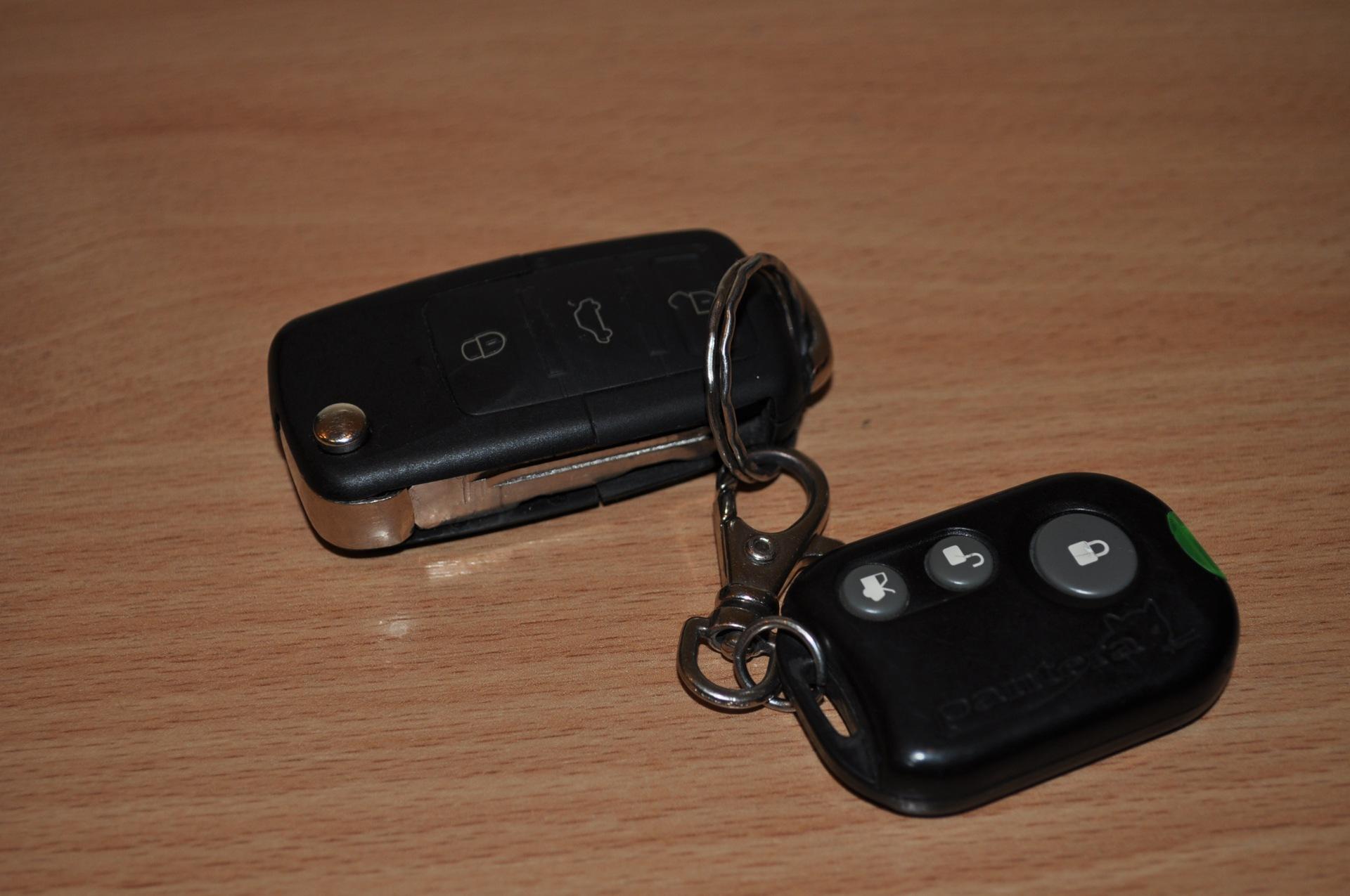 выкидной ключ зажигания на фольксваген