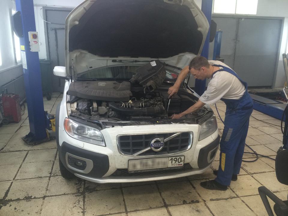 проблемы двигателя у вольво хс-70