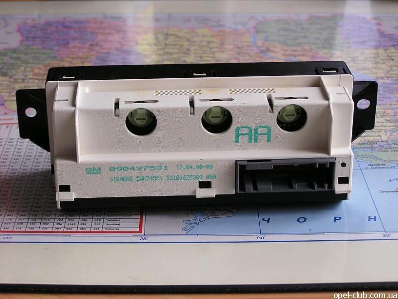 ремонт блок дисплея информационного опель