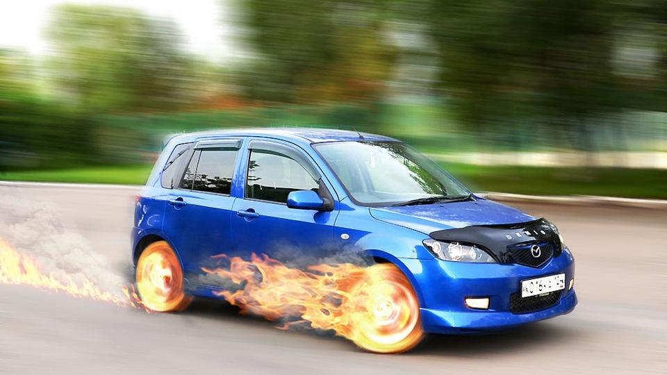 Mazda Demio ПоЛтОрАшНыЙ