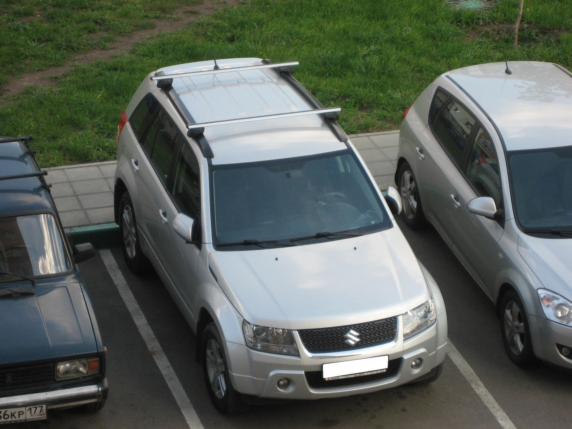 Багажник на крышу Сузуки Гранд Витара - Автобагажники