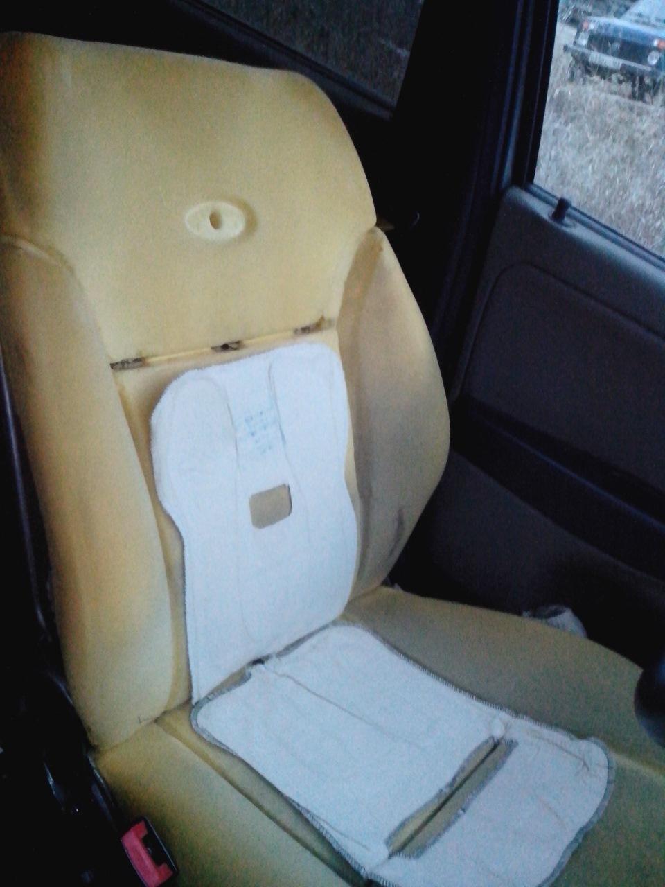 Установка подогрева сидений на калину