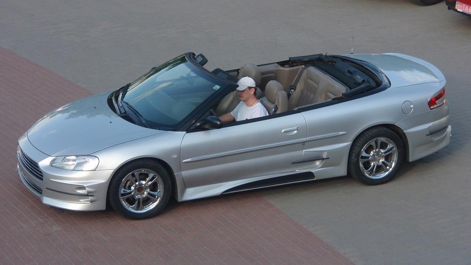 Chrysler Sebring Convertibleon 2008 Chrysler Sebring