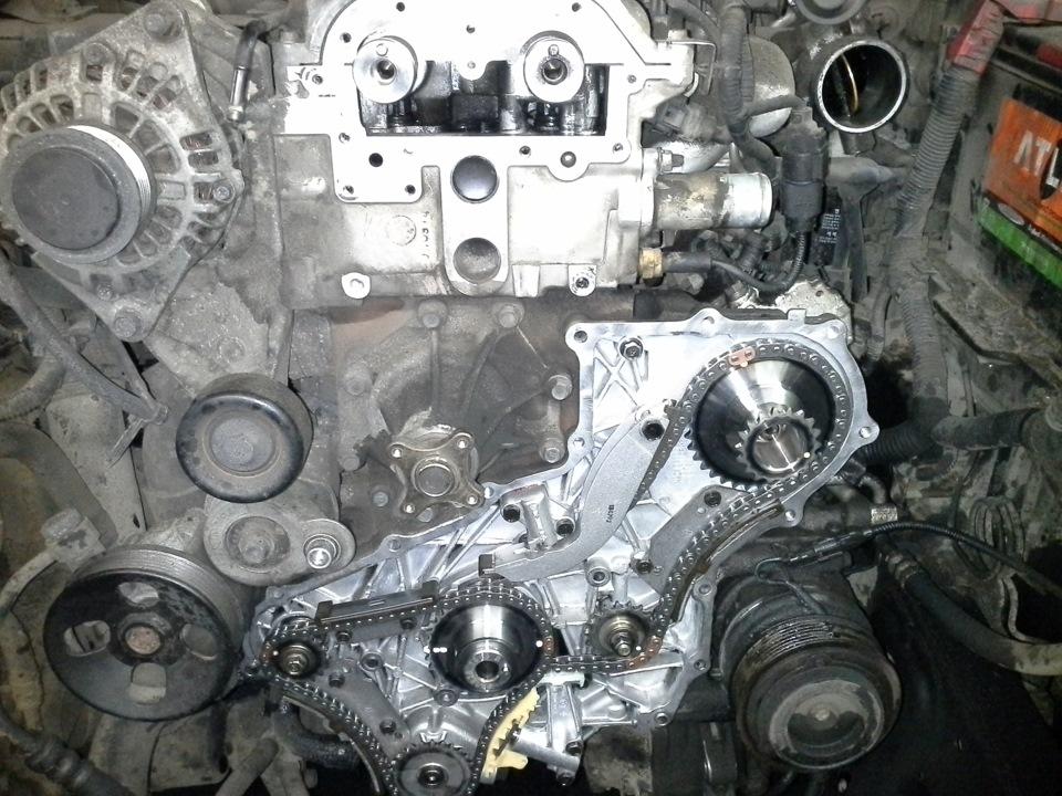 Замена масла в двигателе киа соренто 2.4 своими руками