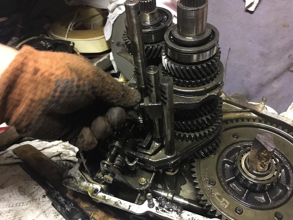 Кпп ваз 2112 ремонт своими руками