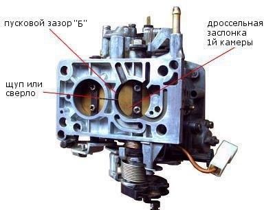 Карбюратор 2108 — 0.85 мм,