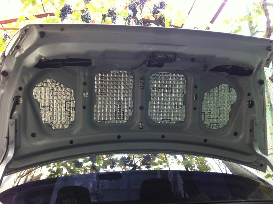 Фото №26 - шумоизоляция крышки багажника ВАЗ 2110