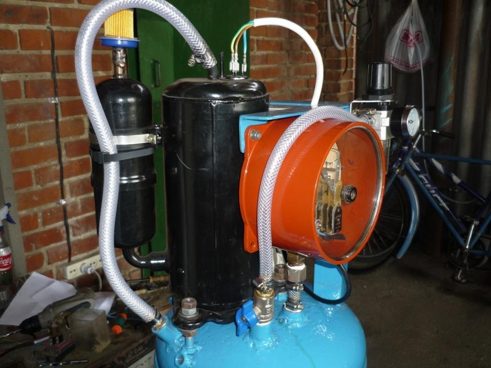 Как сделать газовый компрессор своими руками 338