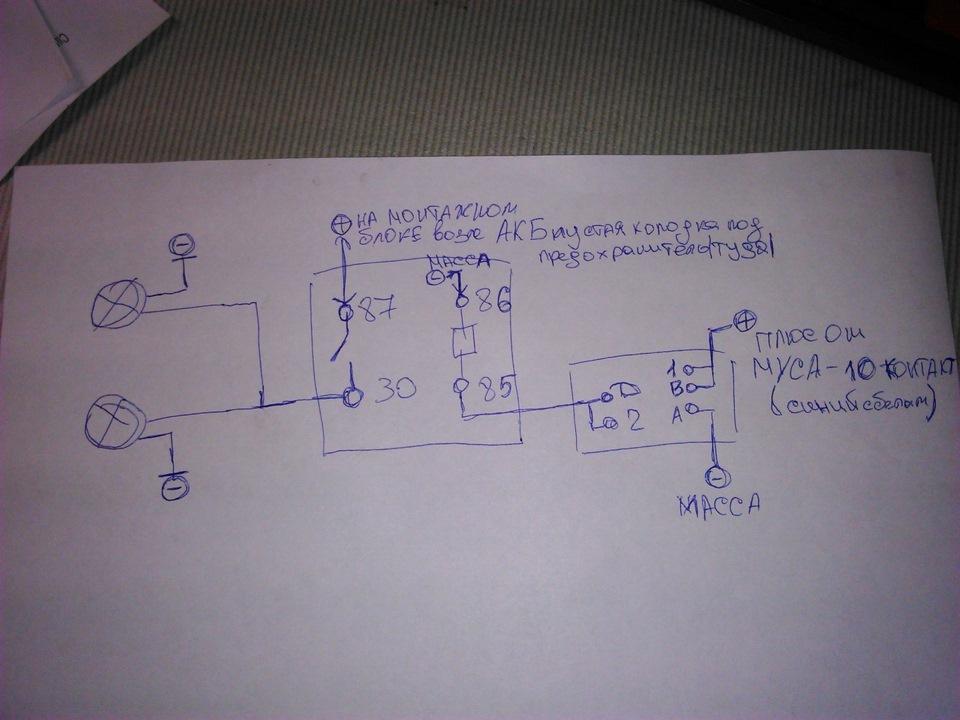 схема подключения магнитолы к ладе гранта