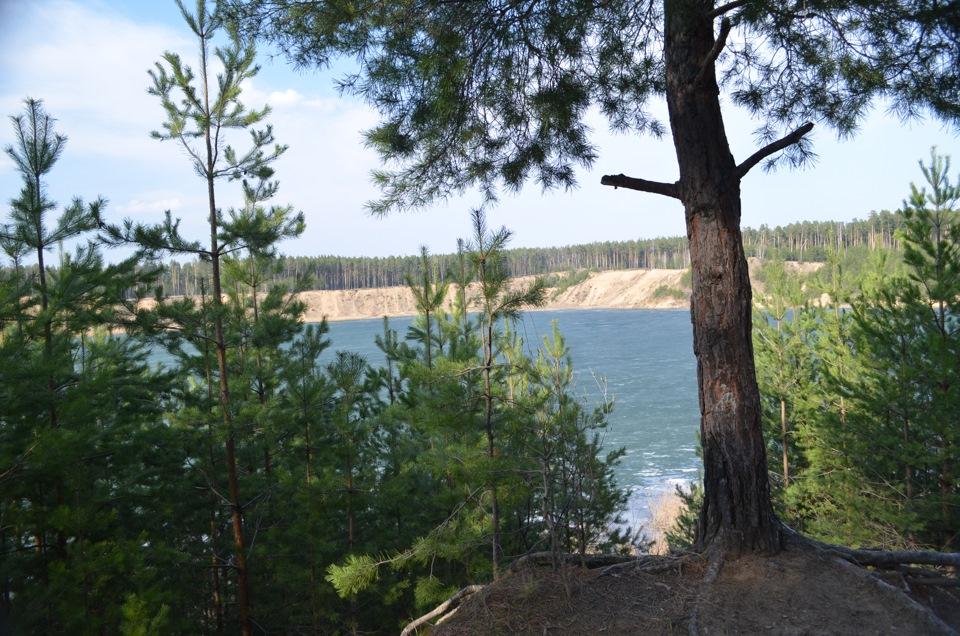 озеро Изумрудное или в простонародии Карьер