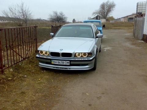 BMW 7 ALPINA (E38) Frontlippe