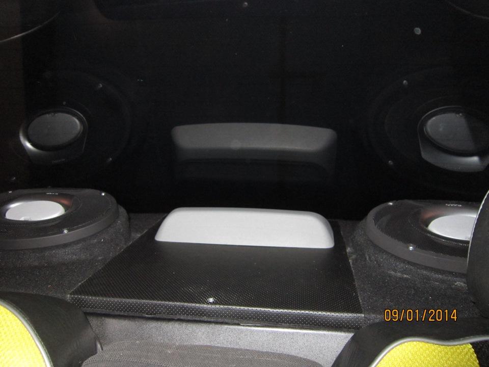 Задняя акустическая полка своими руками. - logbook Lada Priora sedan космос 1.6 2009 on DRIVE2