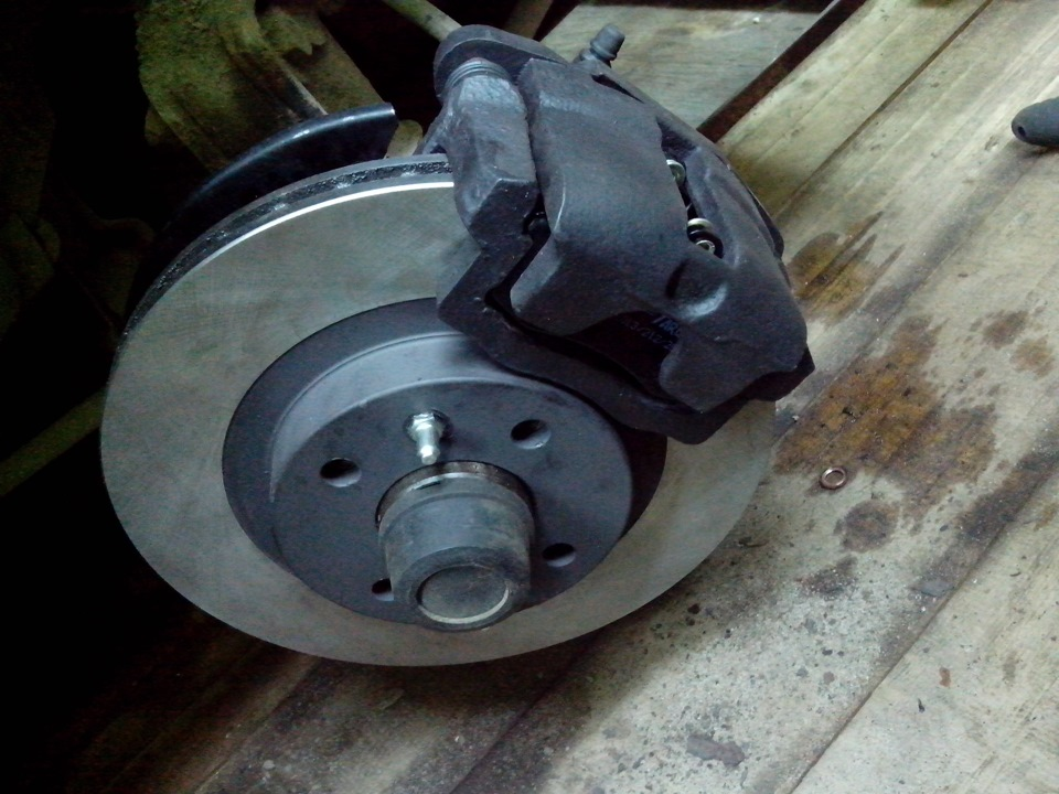Фото №21 - толщина тормозного диска ВАЗ 2110