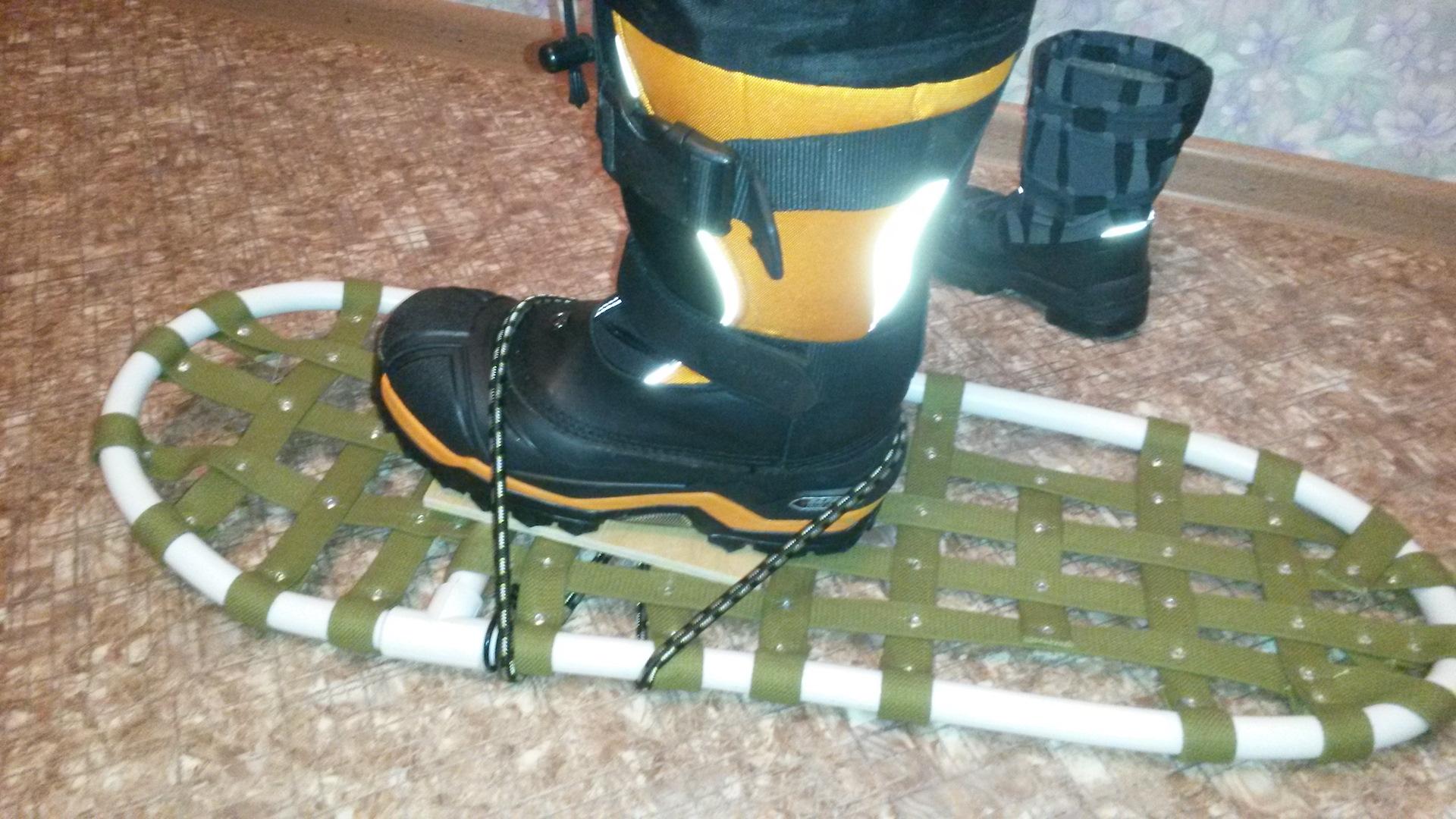 Снегоступы своими руками видео фото 558