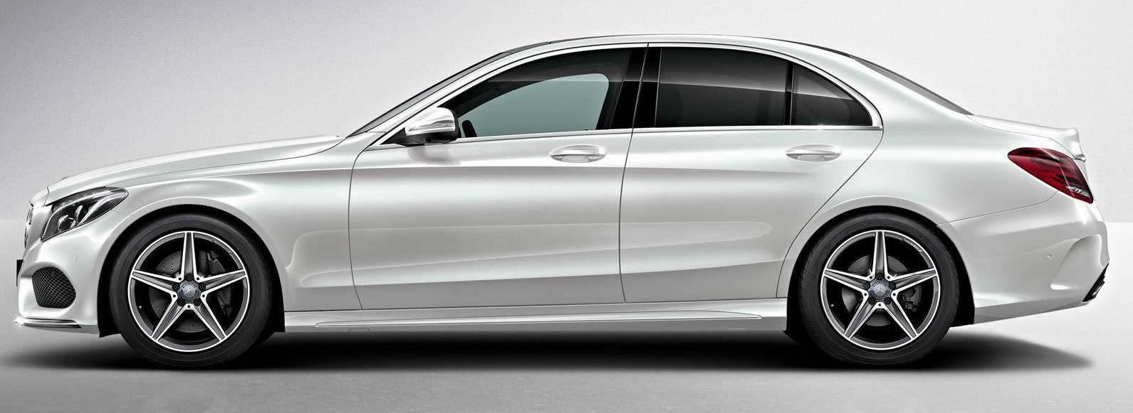 Mercedes C-Class W205 — Apple TV Box + Smarphone Mirrorlink