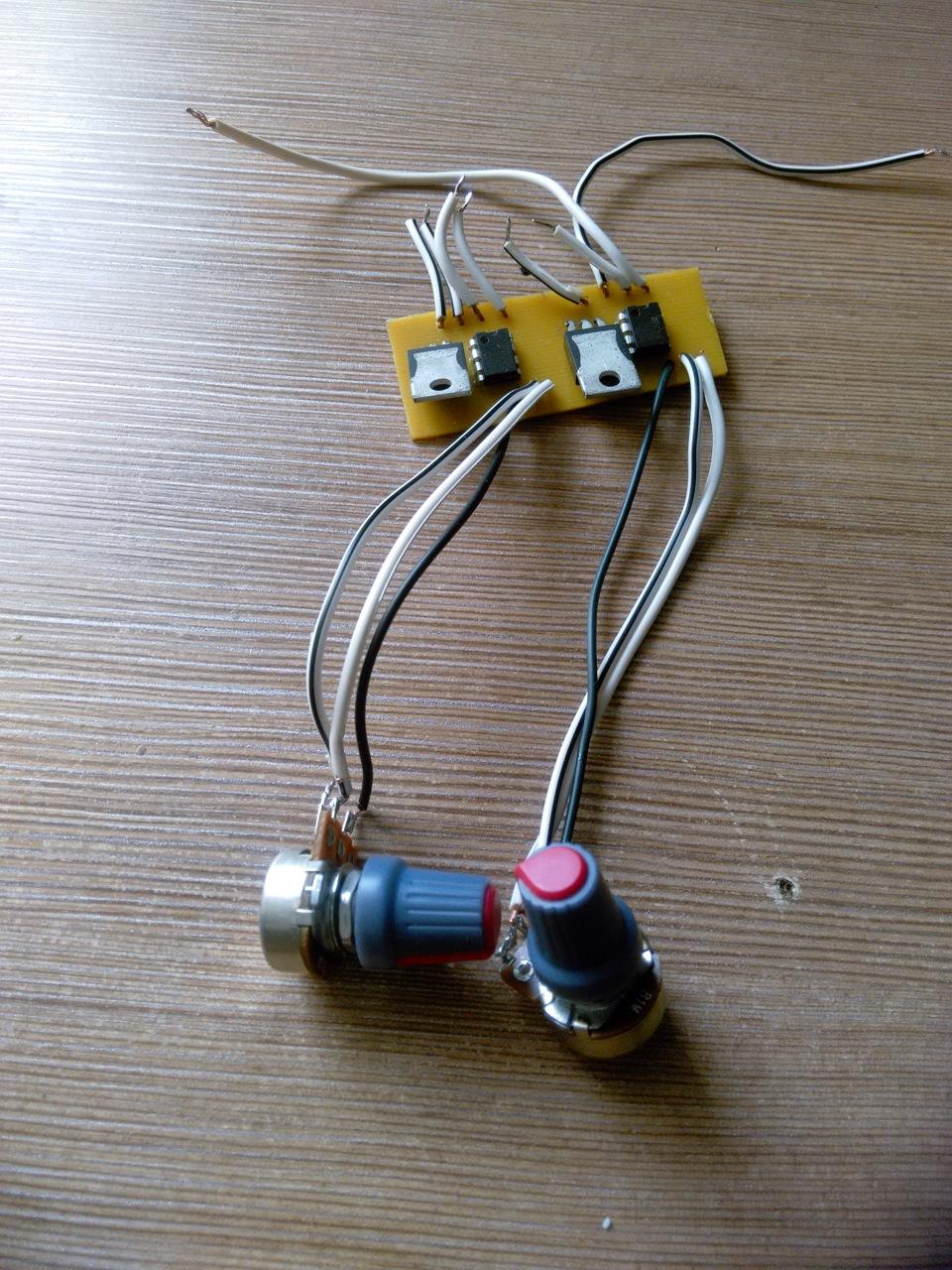 Стабилизатор для диодов своими руками