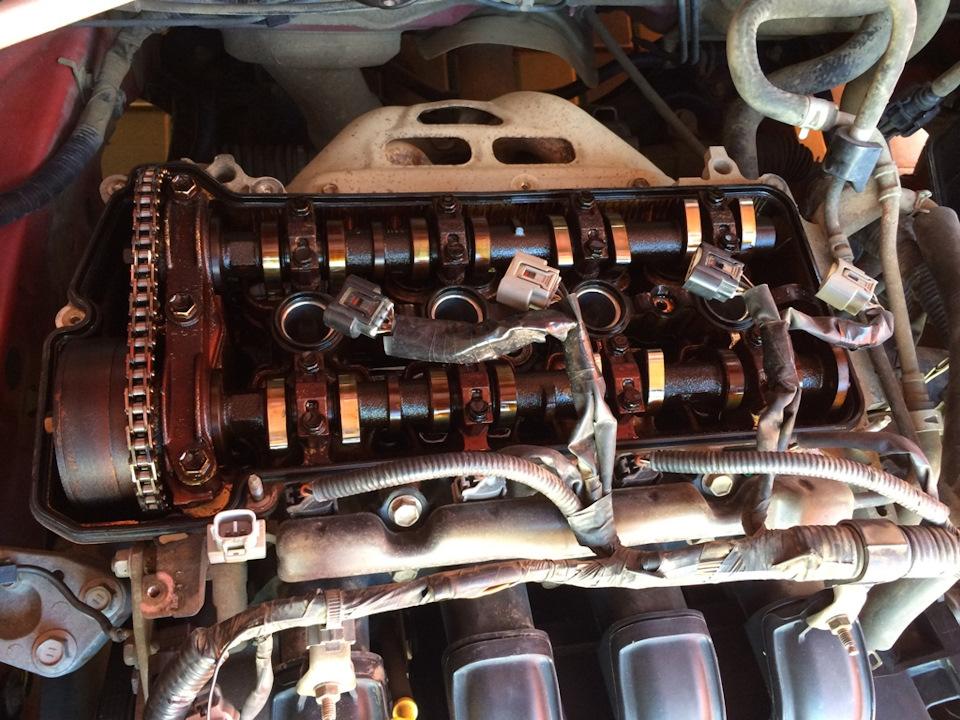 1NZ Fuel Zhor and PCV Valve — logbook Toyota Corolla Runx