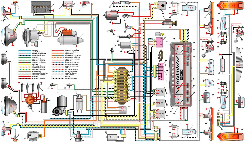 двигатель d17a схема