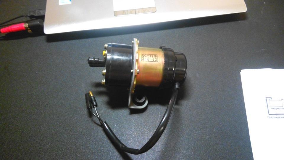 858ff52s 960 - Схема подключения электробензонасоса низкого давления