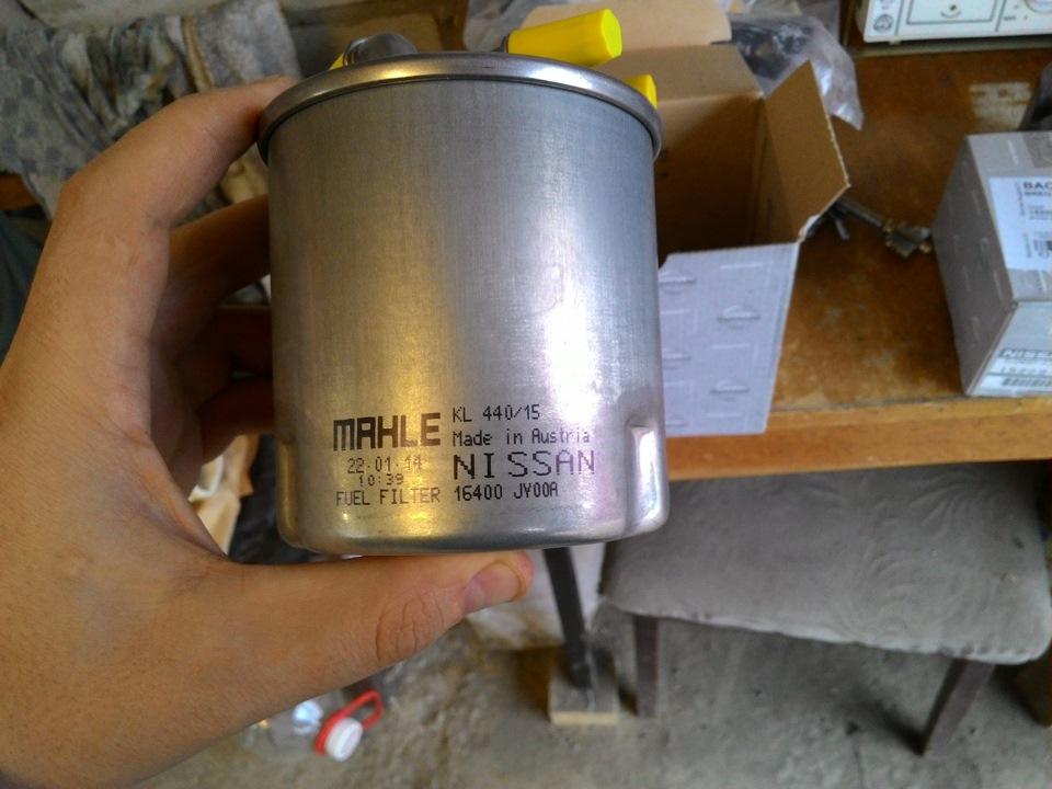 топливный фильтр ниссан икстрейл т30 уже было