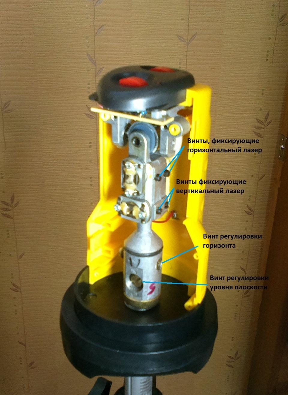 Как отремонтировать лазерный уровень своими руками 66